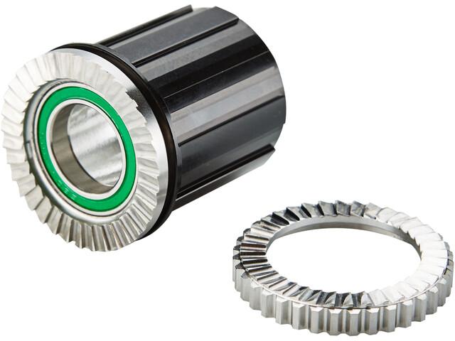 NEWMEN E-MTB Freewheel for Shimano Gen2 Hubs incl. Bearing, black anodized
